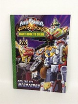 Power Rangers Super Legends: Calling All Megazord Coloring Book PB 2008 ... - $16.78