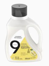 9 Elements Liquid Laundry Detergent, Lemon Scent, 65 oz - $23.95