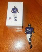 Hallmark Keepsake Ornament Michael Oher Football Legends Blind Side Ravens - $10.00