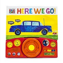 World of Eric Carle, Here we Go Little Steering Wheel Sound Book - PI Ki... - $11.38