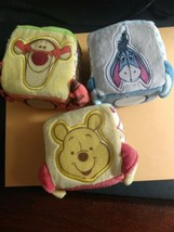 DISNEY Store Winnie the Pooh Soft Blocks for Baby Toy TIGGER Eeyore NEW ... - $9.99
