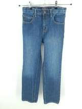 Gap Kids 1969 Girls 16 Slim Straight Leg Regular Fit Faded Medium Wash Denim - $28.70