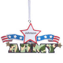 Resin Military Ornament-PlianArmy - $10.99