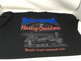 Vintage Harley-Davidson 1997 Daytona Bike Week T-shirt Size 2X Black - $18.50