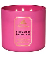 White Barn Strawberry Pound Cake Three Wick.14.5 Ounces Scented Candle - $23.95