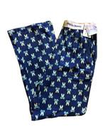 Psycho Bunny Men's Printed Knit Lounge Pants Stretch  Blue Size M - $28.50
