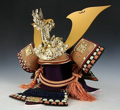 Japanese Samurai Kabuto Helmet  -Kamakura Style- National Treasure Model image 4