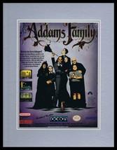 Addams Family 1992 SNES Nintendo 11x14 Framed ORIGINAL Advertisement - $25.82