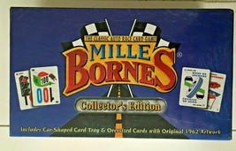 MILLE BORNES Collector's Edition The Classic Auto Race Card Game Brand New  - $29.69