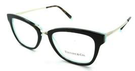 Tiffany & Co Eyeglasses Frames TF 2186 8275 50-18-140 Havana / Crystal Blue - $131.32