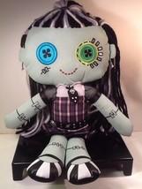"Monster High Frankie Stein Mattel Cloth Rag Plush Stuffed 2013 Doll 18"" - $9.85"