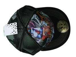 Dunkelvolk Graff World Peruvian Contemporary Art Snapback Baseball Trucker Hat image 6