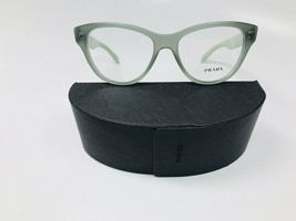 New Prada VPR 23S UEI-101 Green On Light Green  Eyeglasses 54mm with Case - $84.64