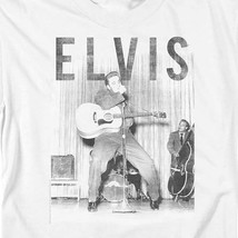 Elvis Presley T-shirt retro 50's distressed photo classic rock & roll tee ELV804 image 1
