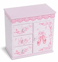 JewelKeeper Ballerina Musical Jewelry Box with 3 Pullout Drawers, Ballet... - €35,88 EUR