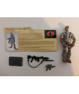 GI Joe Cobra Snow Serpent Action Figure with File Card Cobra TIGHT - $19.75