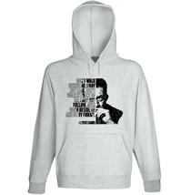 Albert Camus - Don' T Walk Behind Me - NEW COTTON GREY HOODIE - $31.88
