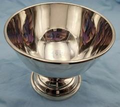 Vintage Sterling Silver Chip Dip Bowl #6737 - $249.00