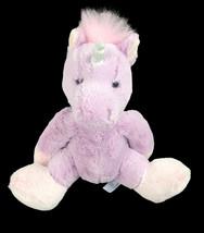 "Purely Luxe Purple & Pink Plush Unicorn 9"" Super Soft Stuffed Animal Toy - $18.80"