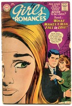 GIRLS' ROMANCES-#129-COOL COVER G - $25.22