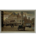 Old Divided Back Postcard Glossy Used Palace Theatre, Oxford Street, Man... - $14.65