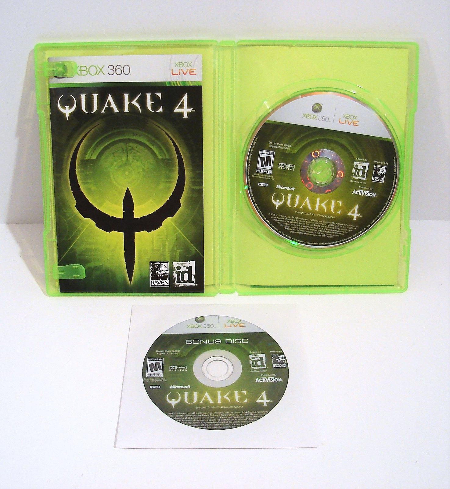 Quake 4 (Microsoft Xbox 360, 2005) with and 50 similar items
