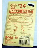 Kadee #34~HO Couplers~Short Underset Shank~NOS~MIB~Magne-Matic - $8.00