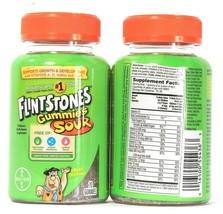 2 Bayer Flintstones Gummies Sour 70 Count Children's Multivitamin Supple... - $23.99