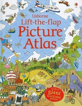 Lift-the-Flap Picture Atlas [Board book] Chisholm, Jane and Lee, Helen - $26.99