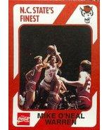 Mike O'Neal Warren Basketball Card (N.C. North Carolina State) 1989 Coll... - $3.00
