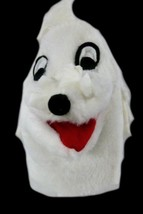 Sheram Puppet Inc White Dog Poodle Children Imagination Pretend Play Han... - $12.71