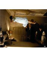 Linda Blair signed The Exorcist 16x20 Color Photo (Regan Floating) Sweet... - $77.95