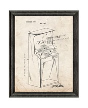 Random Unit Generator Amusement Device Patent Print Old Look with Black ... - $24.95+