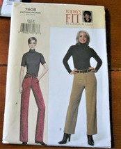 Vogue Pattern 7608 Jeans Today's Fit Sandra Betzina Uncut Factory Folded - $9.79