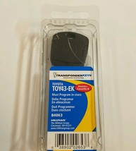 Toyota transponder key blank TOY43-EK security. Program in store - $51.41