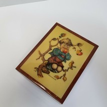 Vintage Wooden Hummel Superstar Music Box West Germany Plays Love Story Video - $21.50