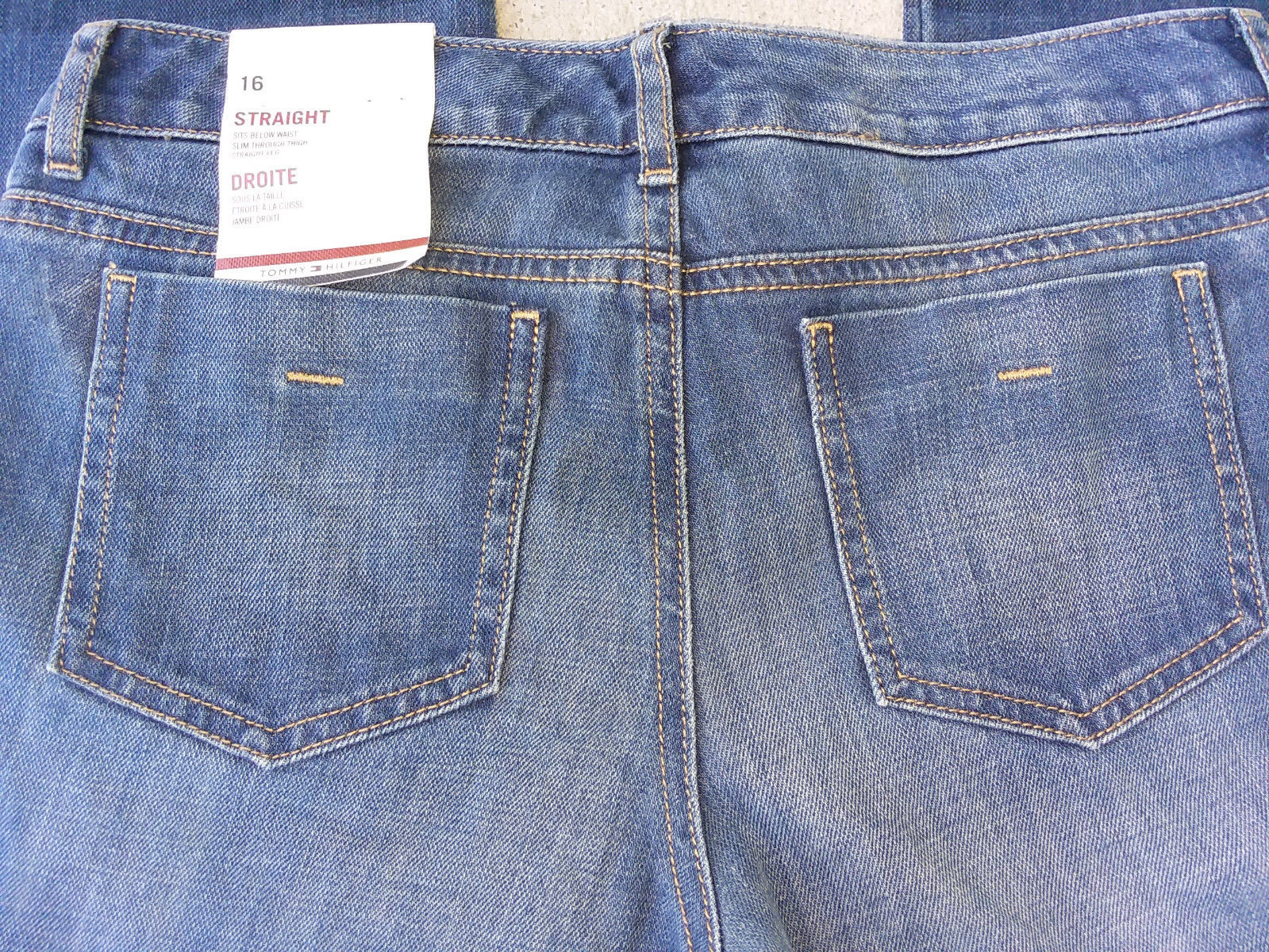 Tommy Hilfiger Girl's Below the Waist Jeans, 16 image 5