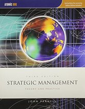 Strategic Management Theory and Practice [Paperback]