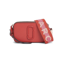 MARC JACOBS M0014538 Snap Shot Camera Bag Red Multi Color Free Shipping - $248.75