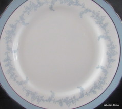 "Kenmore Scallop Rim 6.5"" Plate Silver Trim Bone China Made in England by... - $27.95"