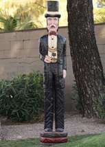 Six Foot Wooden Cigar Store Doc Holliday By Frank Gallagher  - $2,145.00