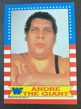 1987 Topps WWF #2 Andre the Giant Rookie Wrestling Card - $3.91