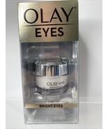 Olay Eyes for Bright Eyes with Vitamin C Brightening Eye Cream 15ml 0.5 ... - $12.57