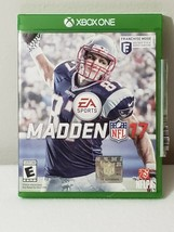 Madden Nfl 17, Microsoft Xbox One, No Manual **Free Shipping** - $6.64