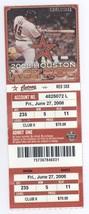 Boston Red Sox @ Houston Astros 6/27/08 Ticket! Daisuke Matsuzaka W JD D... - $3.36