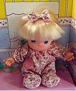 Precious Moments First Baby blonde Doll 1992 removable clothes nursery H4 - $24.77