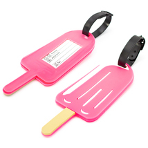 Miami CarryOn Novelty Collection Luggage ID Tags (2-Piece) (Popsicle) - £5.78 GBP