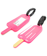Miami CarryOn Popsicle Luggage Tags - Novelty Travel ID Tags - Set of 2 - €6,21 EUR