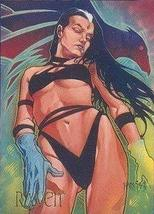 DC Villains RAVEN Prototype Trading Card 1995 Skybox NM - $6.85