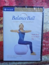 NEW Sealed Gaiam Balance Ball Compilation Sampler DVD Special Edition Ex... - $15.00